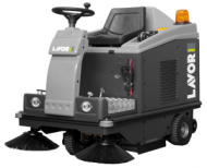 RIDE ON SWEEPERS  SWL R 1000 ET swl r 1000 et with front light system